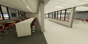 New Building: Cafeteria to get subtle changes