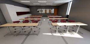 New Building: Child care curriculum options modern, convenient
