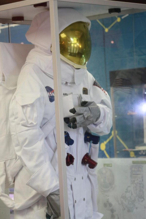 The Astronaut Suit inside the Planetarium.