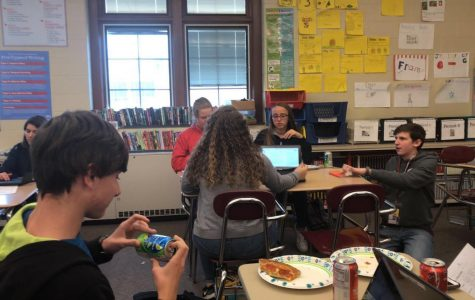 Secondary newspaper classes collide for better content
