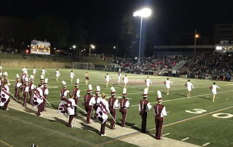 Musicians march out of marching season with last game