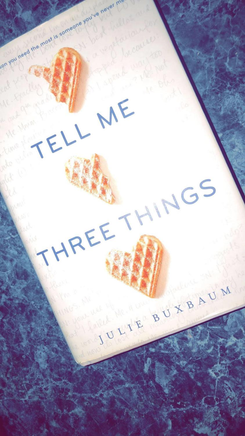 Are you a somebody or a nobody? Maybe you're both. in the book Tell Me Three Things you learn the story of  two people who were nobodies until they find each other. They fall in love and became somebodies to each other.