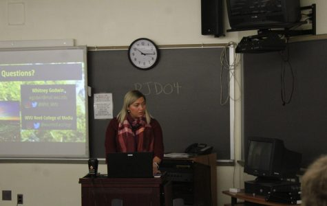 Speaker Whitney Godwin talks about careers