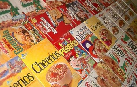 Teachers plan to build wall of cereal