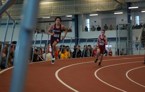 Indoor track gives athletes winter competition