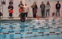 Swimmers celebrate senior day