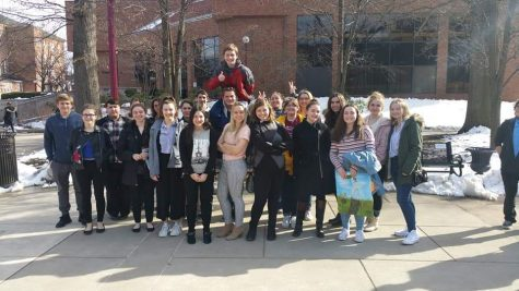 Speech students attend annual competition