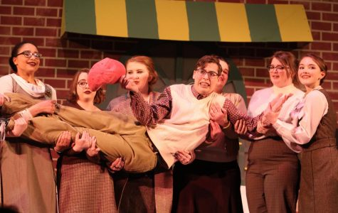 """Mountain Lions perform """"Little Shop of Horrors"""""""