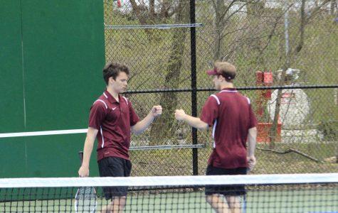 Tennis team takes on Hollidaysburg