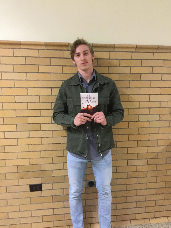 For his senior project senior Devon Fagan wrote a book called