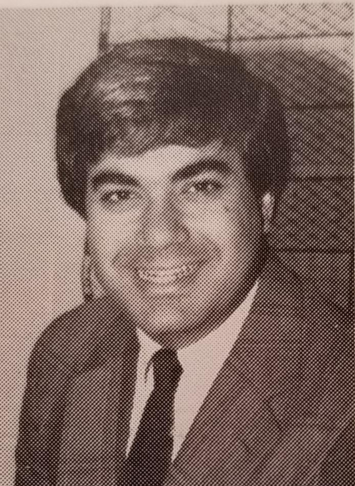 Mr. Aboud began teaching in the 1978-79 school year. He has been working here for 41 years.