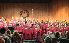 Choral students participate in spring concert
