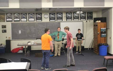 Drama Club prepares for Isaacs