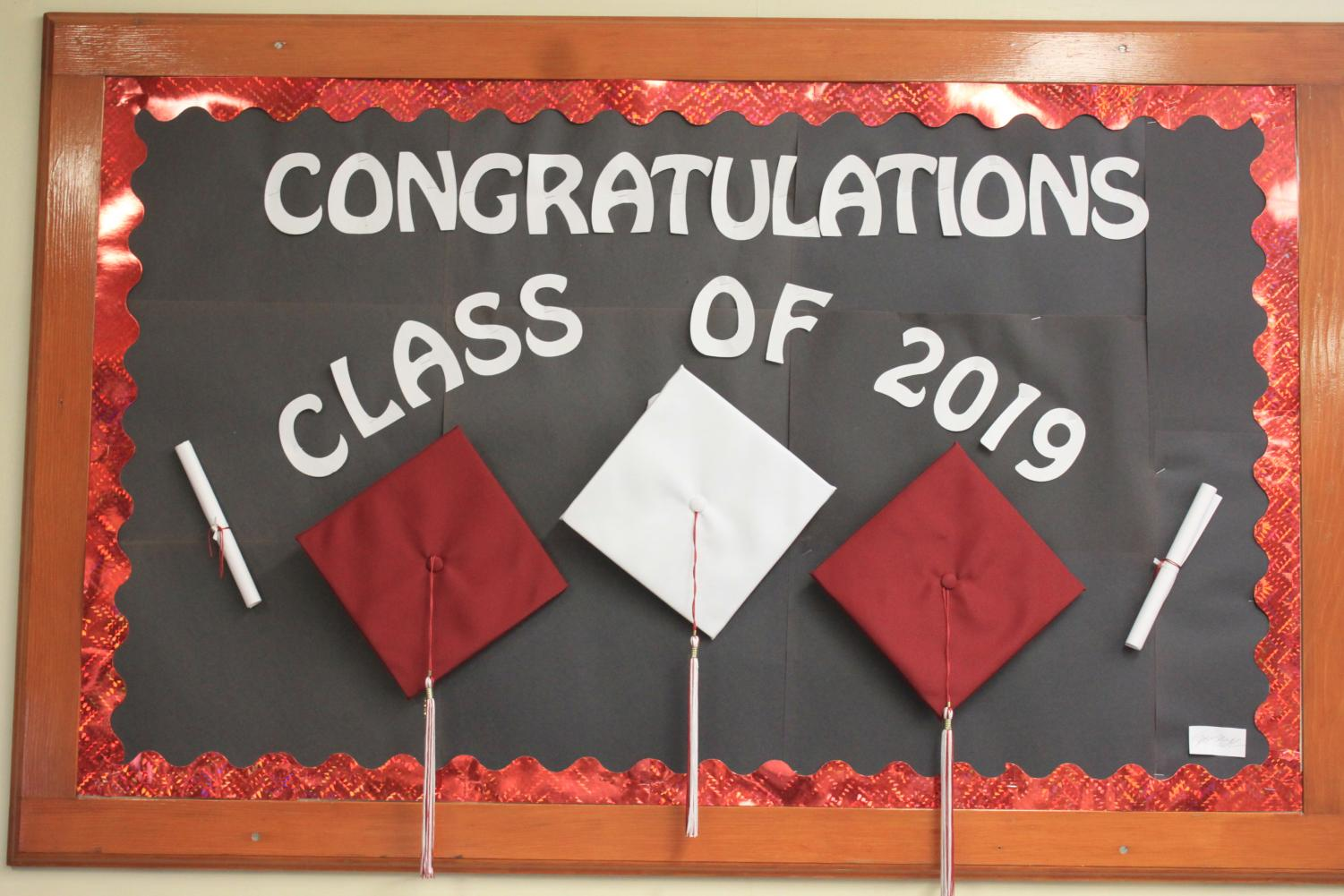 2019 graduation will be held on June 10 at Mansion Park.