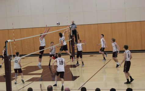 Boys' volleyball team moves to new division
