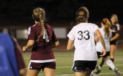 Girls' soccer game 9/12
