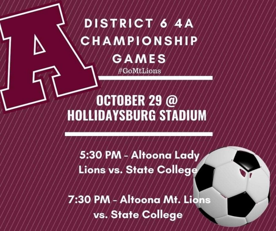Soccer teams compete for district championship Oct. 29