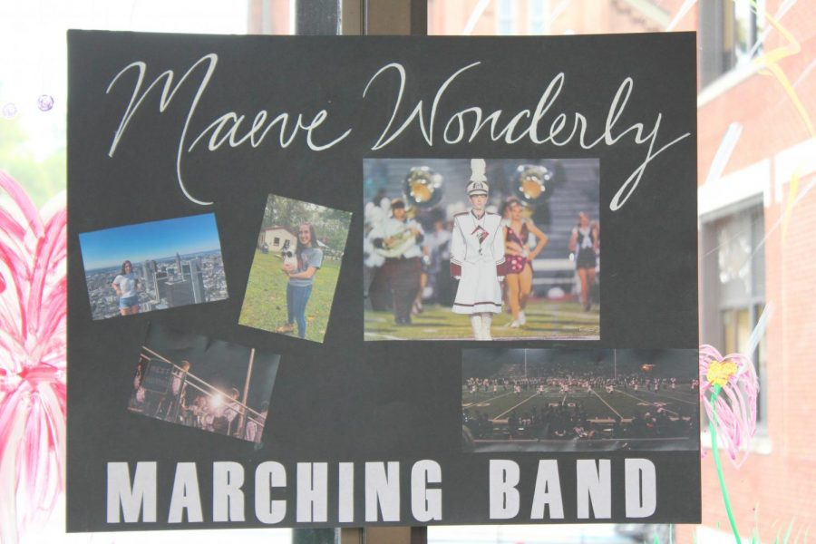 Senior+Maeve+Wonderly+is+running+for+marching+band.+