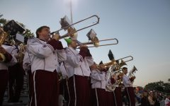 Altoona Junior, Senior Highs practice for Bandarama