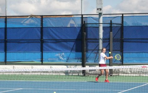 Lady Lion girls' tennis takes over District Six Championship