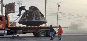 Apollo space capsule restored for planetarium museum