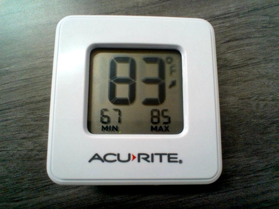 Holy+smokes%21%0AThe+thermometer+shows+a+high+temperature+of+83+degrees.+This+was+one+of+the+highest+temperatures+observed.