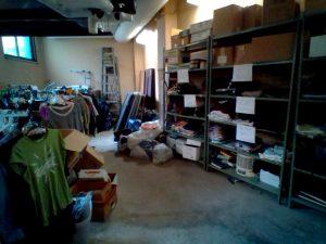 Friends of Rachel organize Rachel's closet