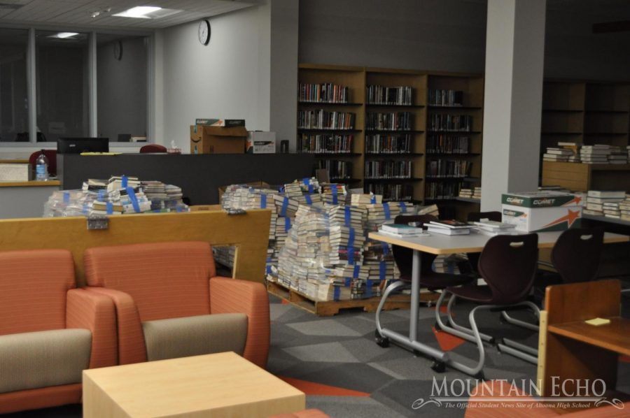 The library is set to open for students by the beginning of 2020. The librarians have been working hard to organize the books and prepare the library for opening