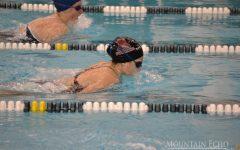 Swim meet against Hollidaysburg