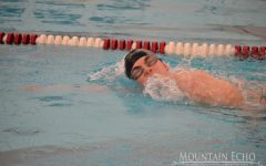 Swim team goes against Huntingdon