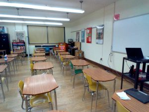 This is a current social studies classroom.