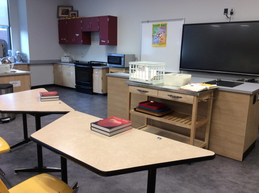 This is a small part of the new foods room.