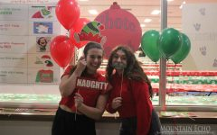 Student council hosts staff Christmas party