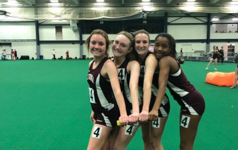 Girls' 4×2 team sets new record