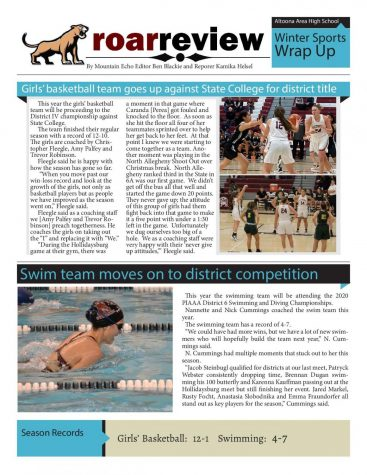 Winter sports wrap up