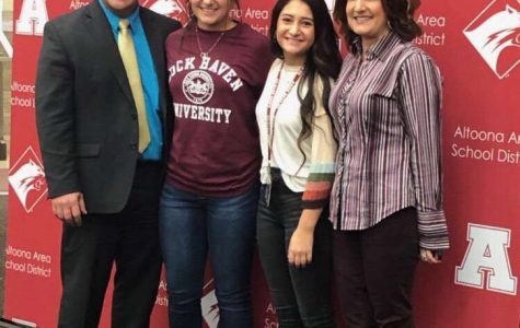 Senior Gianna Marasco will be furthering her education at Lock Haven University.