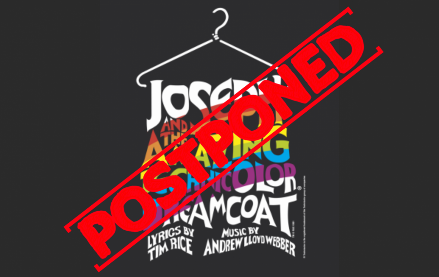 "Coronavirus effects all. The spring musical, ""Joseph and the Amazing Technicolor Dreamcoat,"" is postponed due to safety precautions surrounding the Coronavirus. The play is to rehearse and perform near the end of July and the beginning of August."
