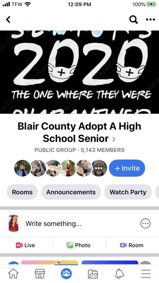 "Seniors in the Blair County area are receiving gifts during quarantine. Shannon Stiteler a parent in Blair County created a Facebook page allowing community members to ""adopt"" seniors who will be missing their last major milestones in a traditional way."