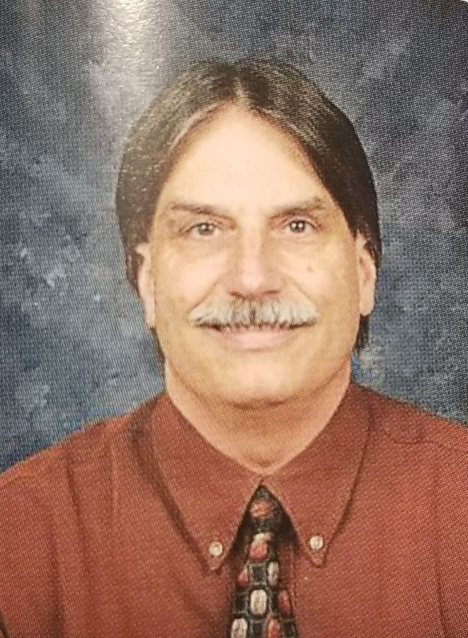 Physics teacher Roger Menard will be retiring this year.