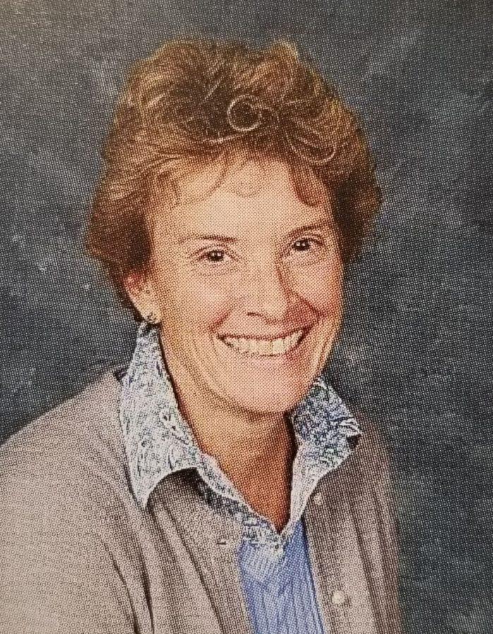 English teacher Tina Johnston will be retiring this year.