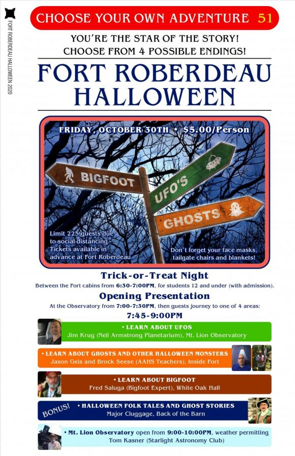 Tickets on sale for Halloween adventure