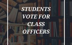 Navigation to Story: Class officers selected by student body