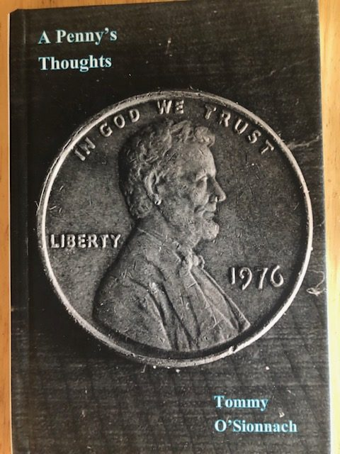 The proposed cover for Thomas Fox's book features a penny.