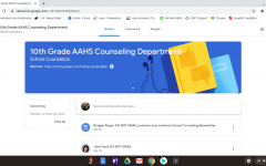 Guidance at home. Each grade has its own google classroom for the guidance office. Be sure to look through the materials after you've signed up and contact your counselor if you have any questions or concerns