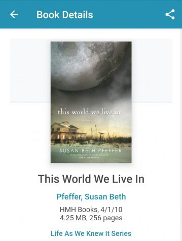 """This World We Live In"" is available on Cloud Library. A library card is needed to sign in."