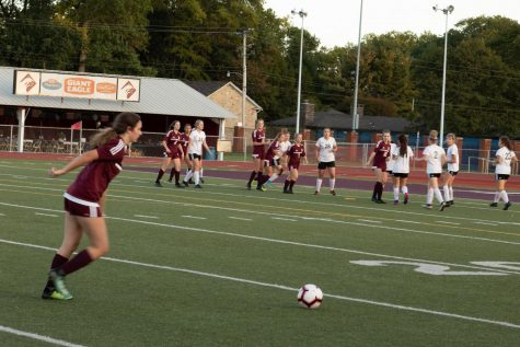 Altoona plays against the other team with the upper hand. The girls remained undefeated this season.
