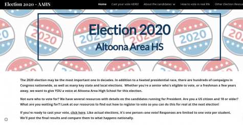 Make sure to submit your vote by Tuesday. Click below to vote. https://sites.google.com/altoonasd.com/election-2020-aahs/home