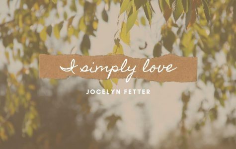 I Simply Love: The Minor Things in Life