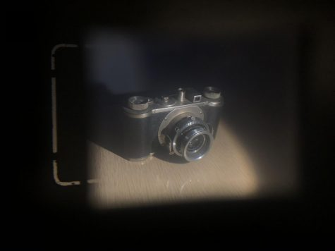 Love for filmmaking. This is a picture of an old film camera of mine. Whenever my grandfather passed away, I was given his collection of cameras, ranging from old to new. Although most of them don