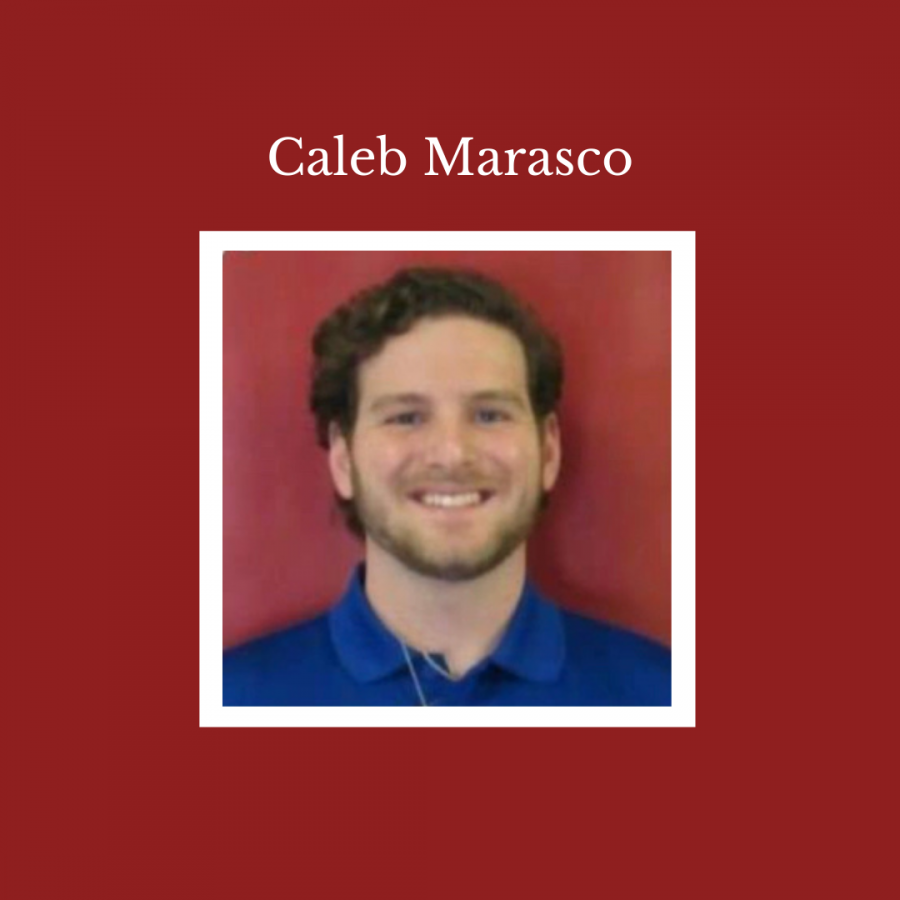 Caleb+Marasco+is+a+first+year+math+teacher+at+the+high+school.+He+is+a+graduate+of+the+Altoona+Area+School+District+himself+and+is+happy+to+be+returning+to+his+hometown.+